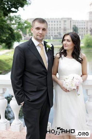 Ноггано с женой